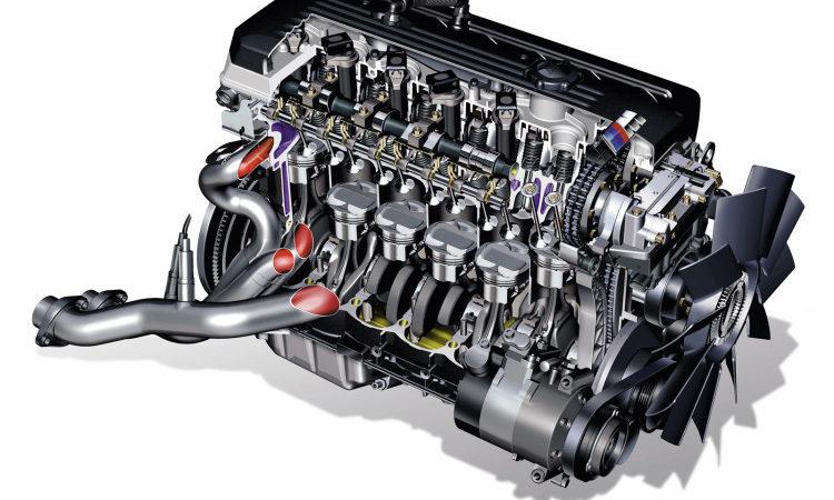 تعمیر موتور 6 سیلندر